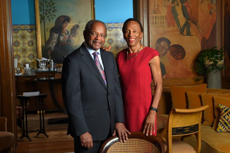 The charitable efforts of Eddie and Sylvia Brown aim to invest in the education of African American youths while also spurring support from Black philanthropists.